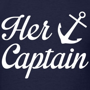 Her Captain - Men's T-Shirt