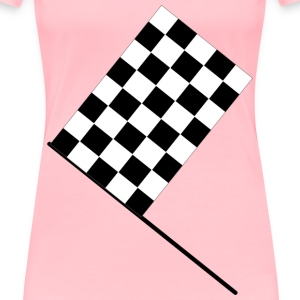 Checkered flag - Women's Premium T-Shirt