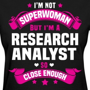 Research Analyst Tshirt - Women's T-Shirt