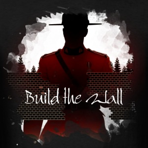 Build the Wall - Men's T-Shirt