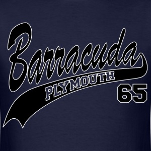65 Barracuda - white outline - Men's T-Shirt