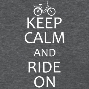 keep calm and ride on T-Shirts - Women's T-Shirt