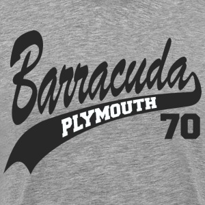 70 Barracuda  - Men's Premium T-Shirt