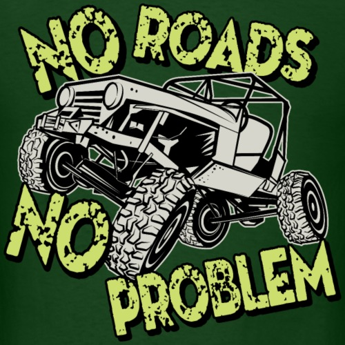 Jeep No Roads No Problem