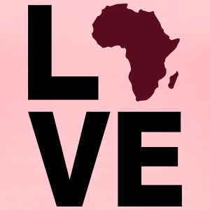 Love Africa - Women's Premium T-Shirt
