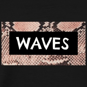 SNAKE SKIN WAVES LOGO - Men's Premium T-Shirt