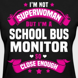 School Bus Monitor Tshirt - Women's T-Shirt