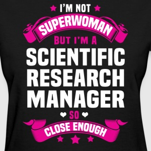 Scientific Research Manager Tshirt - Women's T-Shirt
