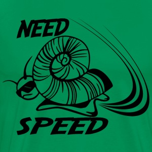 SPEED snail  - Men's Premium T-Shirt
