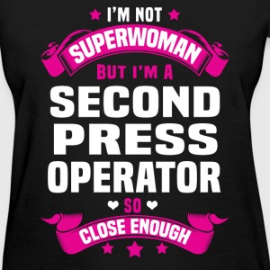 Second Press Operator Tshirt - Women's T-Shirt