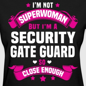 Security Gate Guard Tshirt - Women's T-Shirt
