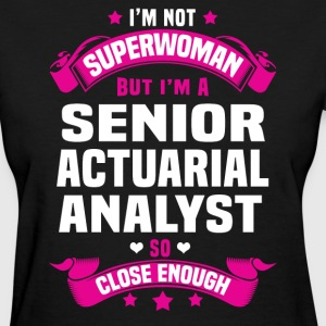 Senior Actuarial Analyst Tshirt - Women's T-Shirt