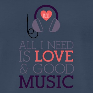 Love & Music - Men's Premium T-Shirt