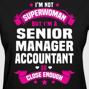 Senior Manager Accountant Tshirt - Women's T-Shirt