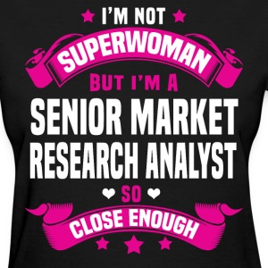 Senior Market Research Analyst Tshirt - Women's T-Shirt