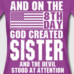 And On The 8th Day God Created Sister And The Devi T-Shirts - Women's Premium T-Shirt
