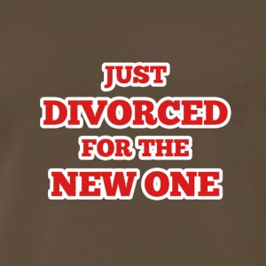 Just Divorced for the New One - Men's Premium T-Shirt