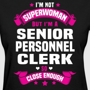 Senior Personnel Clerk Tshirt - Women's T-Shirt