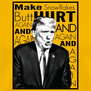 Trump Butthurt Snowflakes - Men's Premium T-Shirt