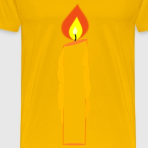 Candle - Men's Premium T-Shirt