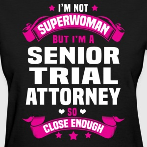 Senior Trial Attorney Tshirt - Women's T-Shirt