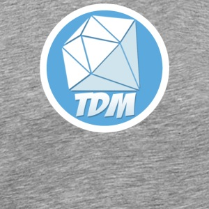 Dan TDM Logo Diamond - Men's Premium T-Shirt