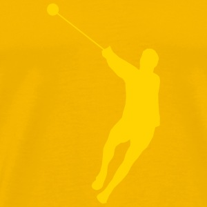 hammer throw - Men's Premium T-Shirt