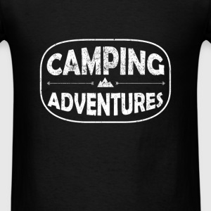 Camping - Camping Adventures - Men's T-Shirt