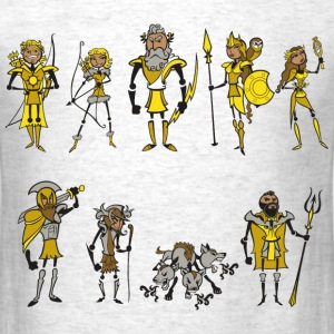 Medieval Stick People  - Men's T-Shirt