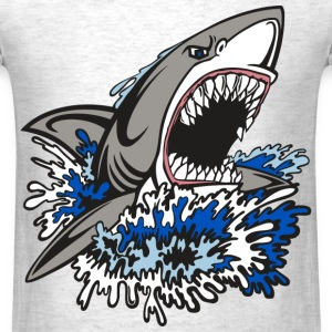 Shark Rage - Men's T-Shirt