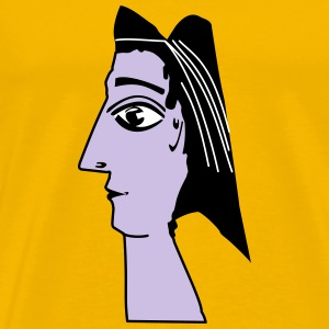 Picasso Sculpture - Men's Premium T-Shirt