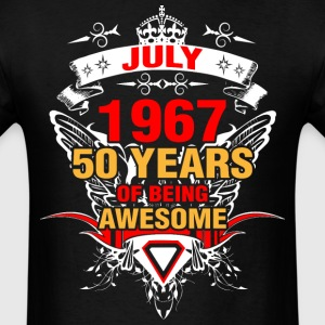 July 1967 50 Years of Being Awesome - Men's T-Shirt