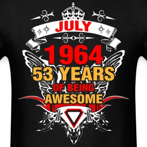 July 1964 53 Years of Being Awesome - Men's T-Shirt