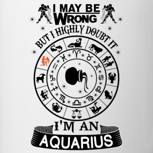 I AM AN AQUARIUS Mugs & Drinkware - Contrast Coffee Mug