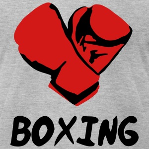 Boxing T-Shirts - Men's T-Shirt by American Apparel