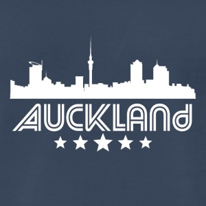 Retro Auckland Skyline - Men's Premium T-Shirt