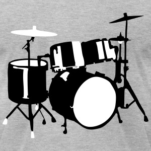 Drums T-Shirts - Men's T-Shirt by American Apparel