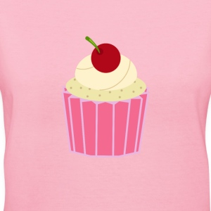 Cupcake - Women's V-Neck T-Shirt