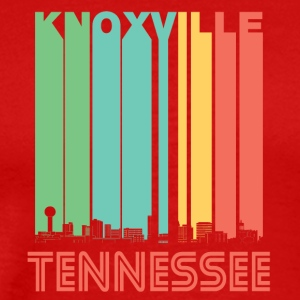 Retro Knoxville Tennessee Skyline - Men's Premium T-Shirt