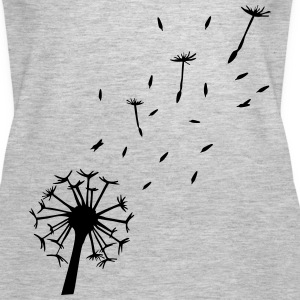 Flying Dandelion Tanks - Women's Premium Tank Top