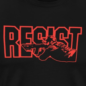 Resist Red - Men's Premium T-Shirt
