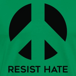 resist hate - Men's Premium T-Shirt