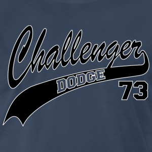 73 Challenger - White Outline - Men's Premium T-Shirt