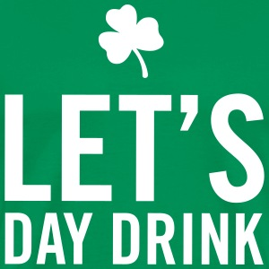 Let's day drink T-Shirts - Men's Premium T-Shirt