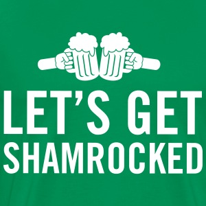 Let's get shamrocked T-Shirts - Men's Premium T-Shirt