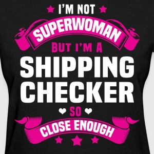 Shipping Checker Tshirt - Women's T-Shirt
