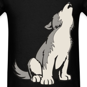 Young Wolf  - Men's T-Shirt