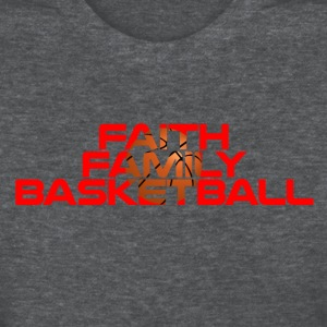 Faith Family Basketball T-Shirts - Women's T-Shirt