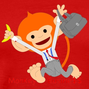 Pongo, Monkey business - Men's Premium T-Shirt