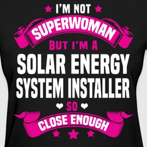 Solar Energy System Installer Tshirt - Women's T-Shirt